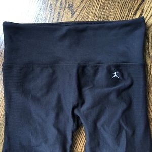 Danskin Super Comfy Workout Leggings, M, Black EUC